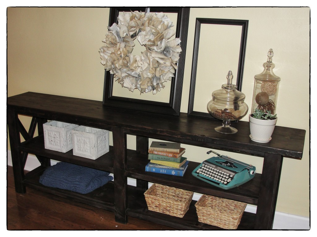 Console Table Full