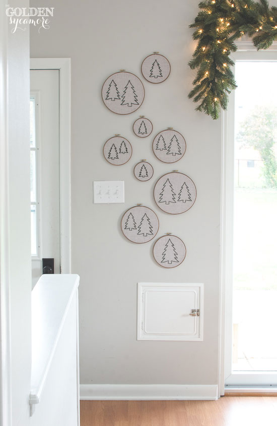 embroidery-hoop-Christmas-tree-forest-art