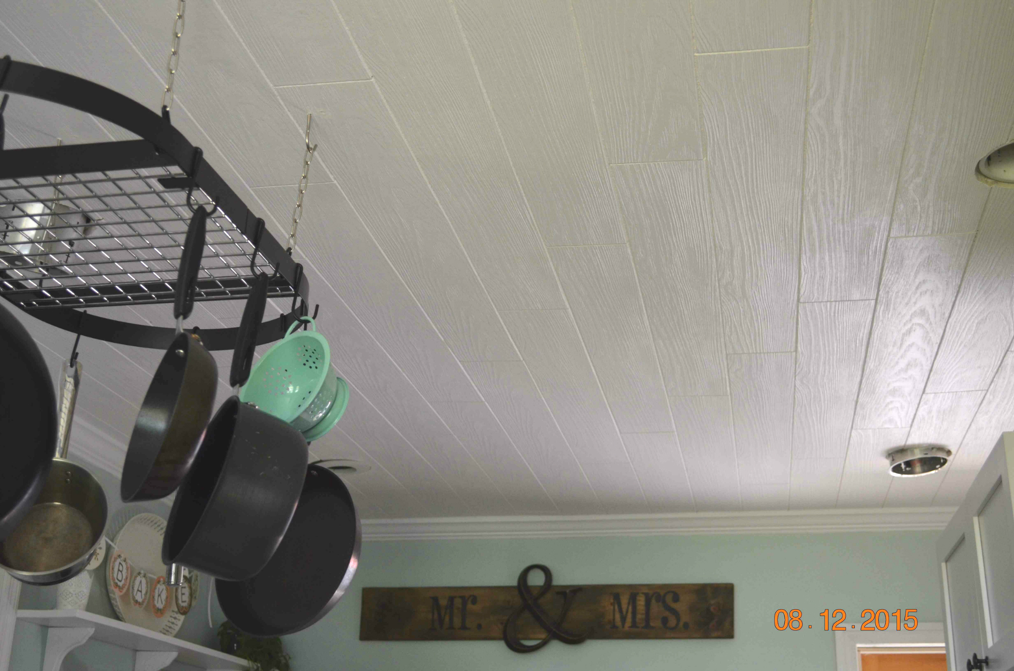 jamie lynn leake » how to (faux) plank a ceiling