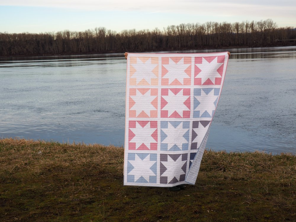 Inside Out Star Quilt